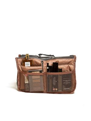 Органайзер для сумки, кофейный Homsu. Цвет: коричневый