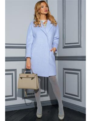 Пальто Vittoria Vicci. Цвет: голубой