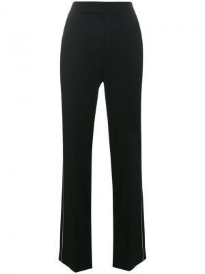 Классические брюки Helmut Lang. Цвет: чёрный