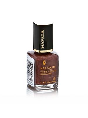 Лак для ногтей профессиональный Okuome Mavala. Цвет: коричневый