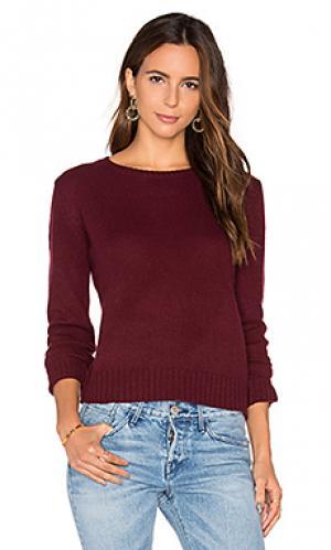 Кашемировый свитер nini 360 Sweater. Цвет: вишня