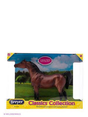 Лошадь арабская гнедая Breyer. Цвет: темно-коричневый