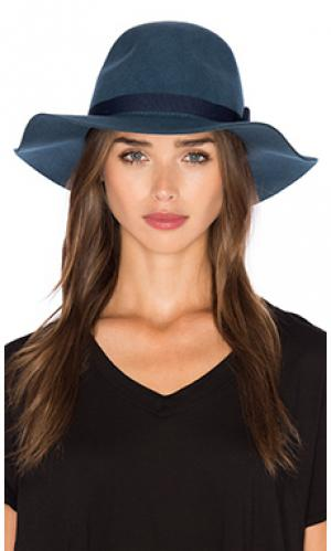 Шляпа dalila Brixton. Цвет: синий