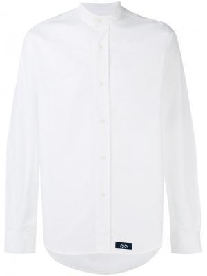 Рубашка с воротником Bleu De Paname. Цвет: белый