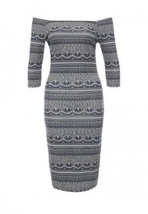 Платье Jennyfer. Цвет: синий