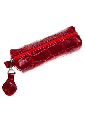 Ключница Time (130х45х35). Цвет: красный