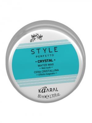 Style Perfetto Воск для волос с блеском Crystal 80мл. Kaaral. Цвет: голубой, серебристый