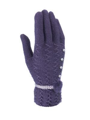 Перчатки женские Cascatto. Цвет: сиреневый