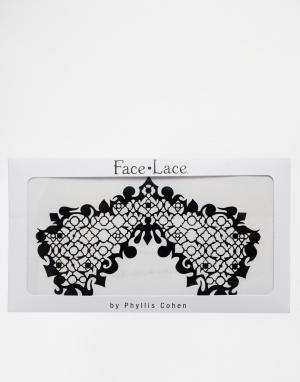 Facelace Декоративная наклейка-маска Face Lace. Цвет: beauroque