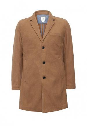 Пальто Gap. Цвет: коричневый