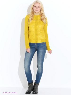 Кардиган Baon. Цвет: желтый