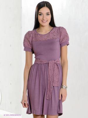 Платье Xenia. Цвет: лиловый, фиолетовый