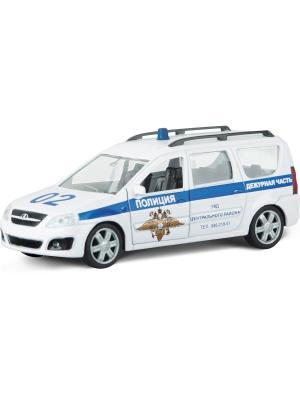 Машина LADA LARGUS полиция AUTOTIME. Цвет: белый