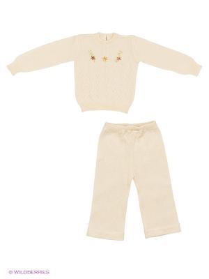 Комплект одежды St.Marco. Цвет: кремовый