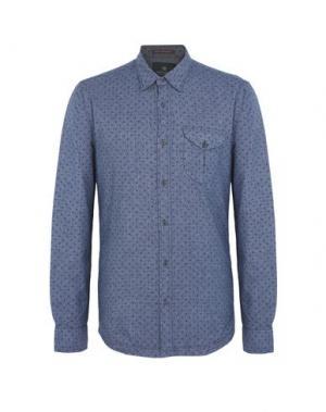 Джинсовая рубашка SCOTCH & SODA. Цвет: синий
