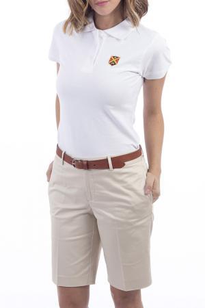 Рубашка-поло POLO CLUB С.H.A.. Цвет: белый