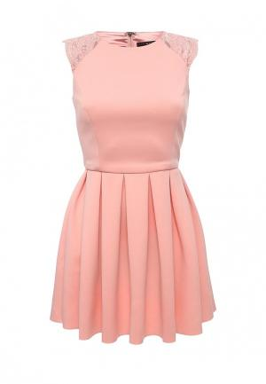 Платье Love Republic. Цвет: розовый