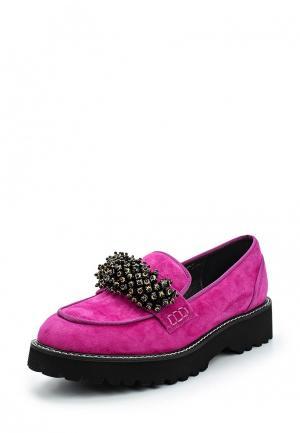 Лоферы Grand Style. Цвет: фиолетовый