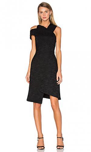 Платье oliver Acler. Цвет: черный
