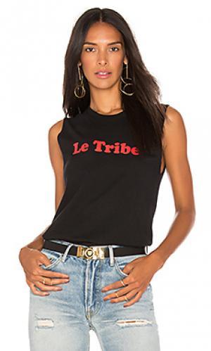 Майка-борцовка le tribe A Fine Line. Цвет: черный