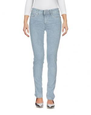 Джинсовые брюки SALSA. Цвет: синий