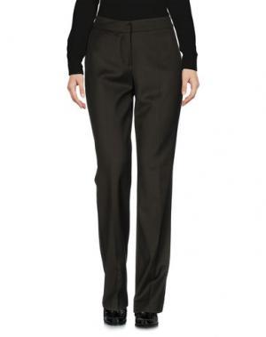 Повседневные брюки BIANCOGHIACCIO. Цвет: зеленый-милитари