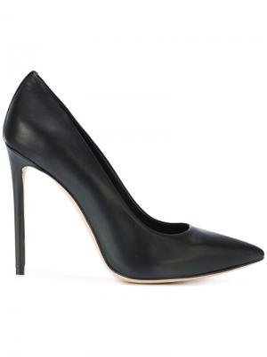 Туфли-лодочки с заостренным носком Marc Ellis. Цвет: чёрный