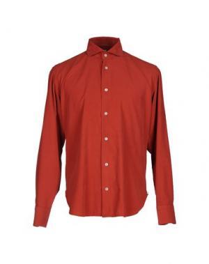 Pубашка DANOLIS. Цвет: красный