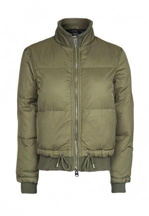 Куртка утепленная Topshop. Цвет: хаки