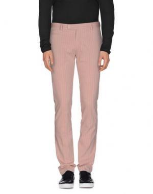 Повседневные брюки BERWICH. Цвет: розовый