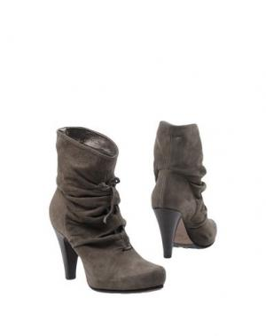 Полусапоги и высокие ботинки ANDREA MORELLI. Цвет: свинцово-серый