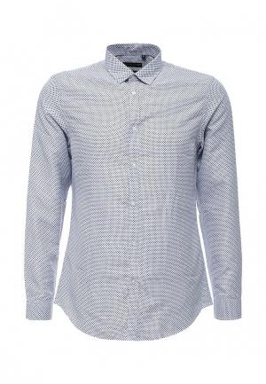 Рубашка Warren Webber. Цвет: голубой