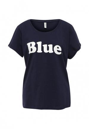 Футболка BlendShe. Цвет: синий