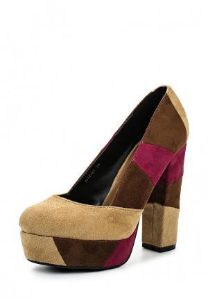 Туфли Lisaw. Цвет: разноцветный