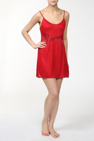 Сорочка Primavera. Цвет: красный