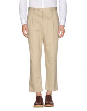 Повседневные брюки LC23. Цвет: бежевый