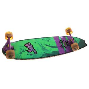 Скейт круизер  Dorado Xl Green/Purple 9.5 x 34.5 (87.6 см) Lost. Цвет: зеленый,фиолетовый