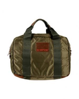 Деловые сумки ENERGIE. Цвет: зеленый-милитари