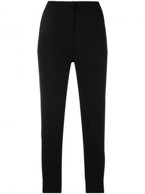 Укороченные брюки Federica Tosi. Цвет: чёрный