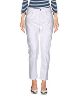 Джинсовые брюки # 7.24. Цвет: белый