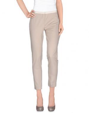 Повседневные брюки BRIAN DALES. Цвет: голубиный серый