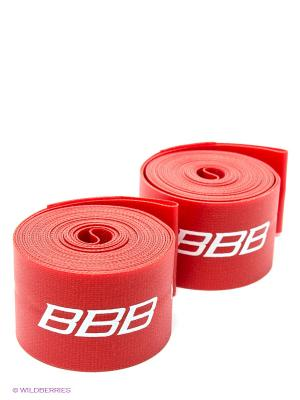 Ободная лента BBB. Цвет: красный