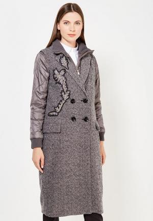 Куртка утепленная Max&Co. Цвет: серый