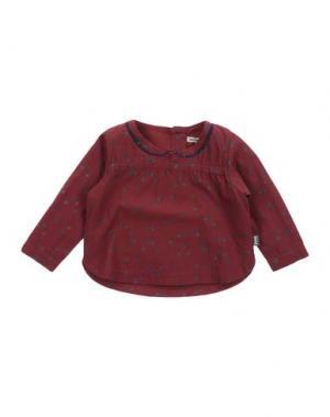 Блузка IMPS&ELFS. Цвет: кирпично-красный