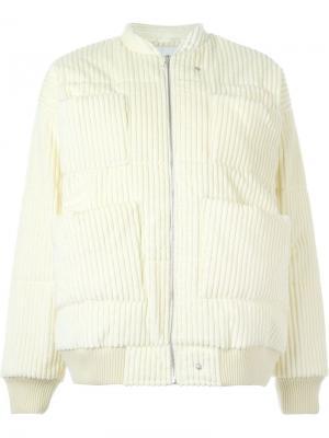 Куртка-бомбер Reva Carin Wester. Цвет: телесный