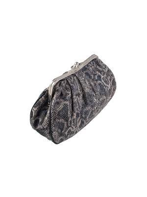 Косметичка женская Beiron Рептилия 2182JY (19*29см). Цвет: темно-серый