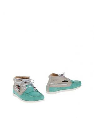 Полусапоги и высокие ботинки DOLFIE. Цвет: светло-зеленый