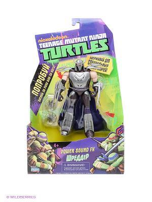 Фигурка Шреддер Playmates toys. Цвет: серебристый, фиолетовый