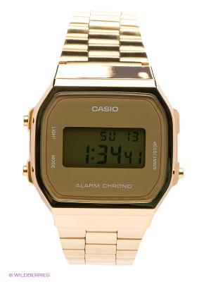 Часы Casio. Цвет: золотистый