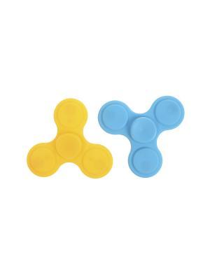 Комплект (Спиннер - 2 шт.) Happy Charms Family. Цвет: желтый, голубой